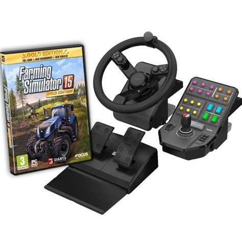 Steering Wheel For Pc In Sri Lanka Farming Simulator 15 Gold Includes Steering Wheel Pc
