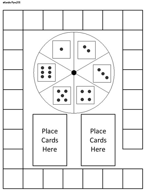 primary flynn blank game boards