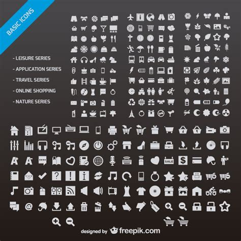 icon design vector free download website icons set vector free download