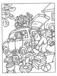 Travel Coloring Family Pages Colouring Cars The  sketch template