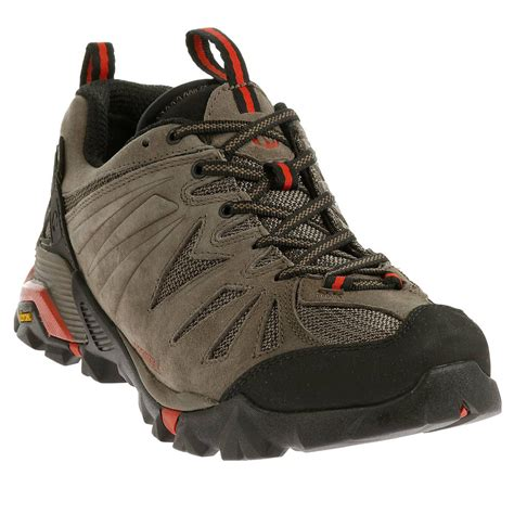 Merrel Running Browm merrell capra mens brown tex waterproof walking