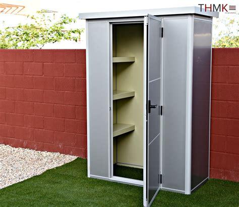 armario exterior en chapa de acero galvanizado mod xxh noagarden