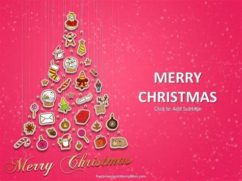 themes christmas free download backgrounds style powerpoint 2016 color pink wallpaper cave