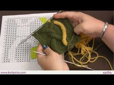 knit picks cables advanced cabling techniques intarsia cables knit picks