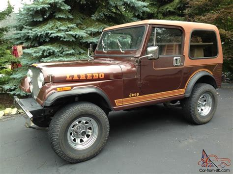 1984 Jeep Cj7 1984 Jeep Cj7 Laredo One Owner Original Nevada