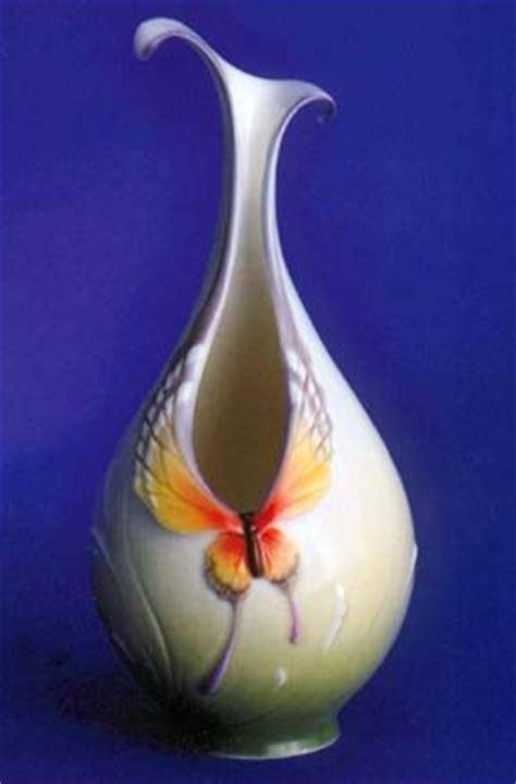 franz porcelain butterfly vase design vases