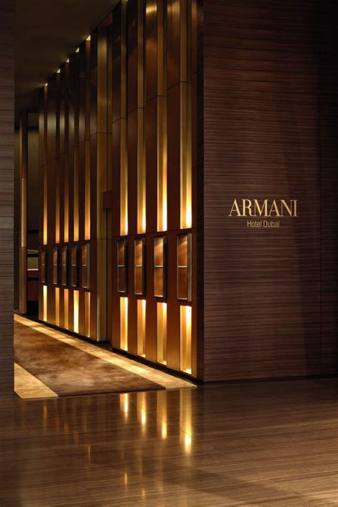 armani dubai first look armani hotel luxuo