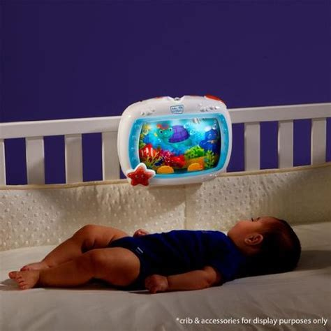 Baby Einstein Crib Soother Baby Einstein Sea Dreams Soother Crib Bed Light Sound Infant Sleep