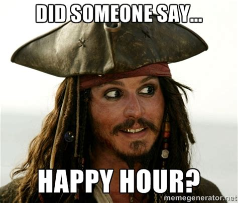 Happy Hour Meme - 5 things employees really do at work told in memes