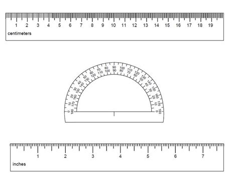 printable ruler in word 91 free printable rulers in actual size