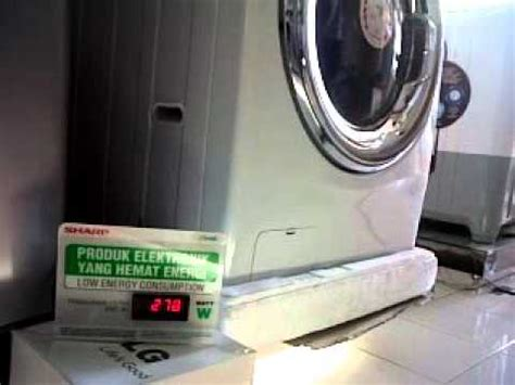 Mesin Cuci Lg Pintu Depan watt mesin cuci lg 14kg