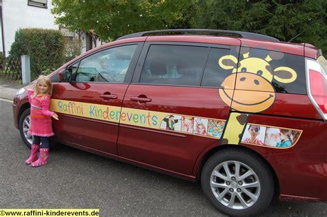 Autowerbung Kinder by Raffini Kinderevents Neue Autowerbung Raffini