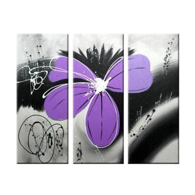 Lukisan Bunga B944 jual lukisan harga menarik blibli