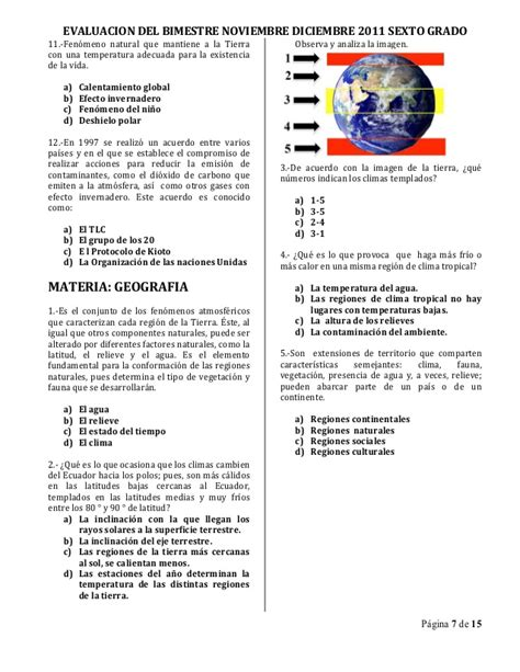 examen bimestral sexto grado apexwallpaperscom examen bimestral sexto grado bim ii 1