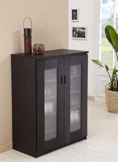 5 Shelf Shoe Cabinet furniture of america brisk 5 shelf shoe cabinet black