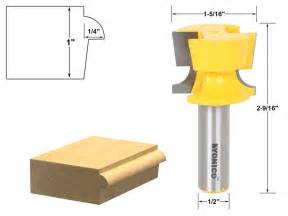 Cabinet Door Router Bits Cabinet Door Lip With Tapered Back Rabbet Router Bit 1 2 Quot Shank Yonico 13928 Ebay