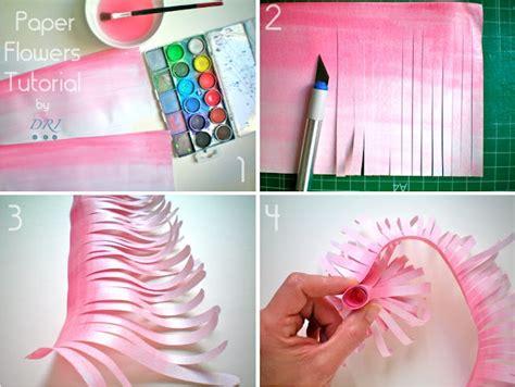 paper flower tutorial by dri paper flowers lightcameramonkey