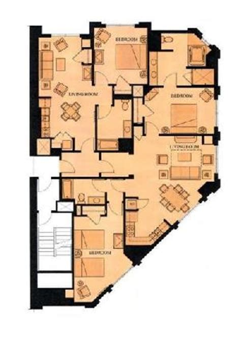 elara 4 bedroom suite floor plan grand california hotel 3 bedroom floor plan joy studio