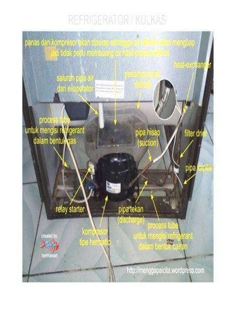 Evaporator Kulkas 2 Pintu teknik refrigerasi