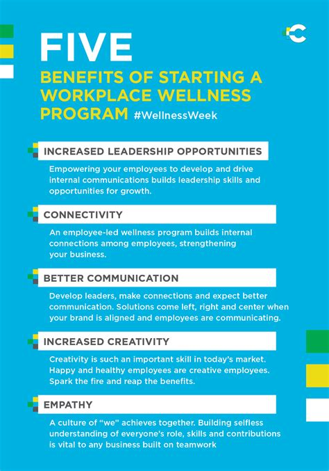 Benefits Of An Mba Degree by 5 Benefits Of Starting A Workplace Wellness Program