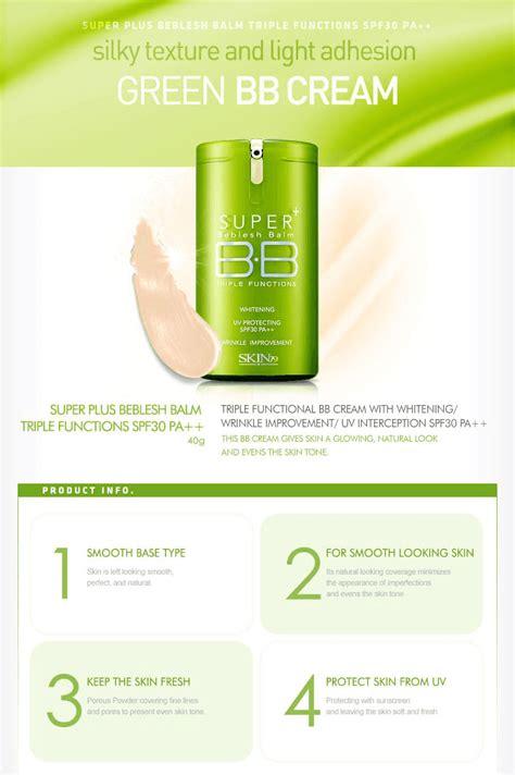 Skin79 Plus Function Bb skin79 plus bb functions spf30 pa green 40g