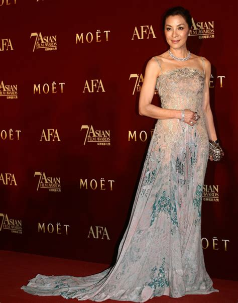 Mei Dress Flow style 7th asian awards carpet fashions jaynestars