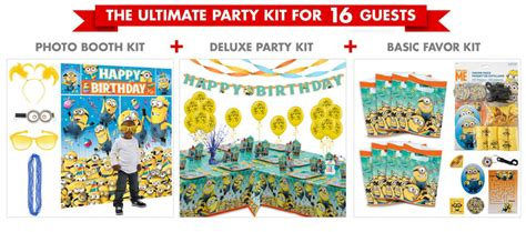 City Minion Decorations by Despicable Me Supplies Despicable Me Birthday