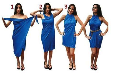 como hacer vestidos con pareos diy formas de usar un pareo