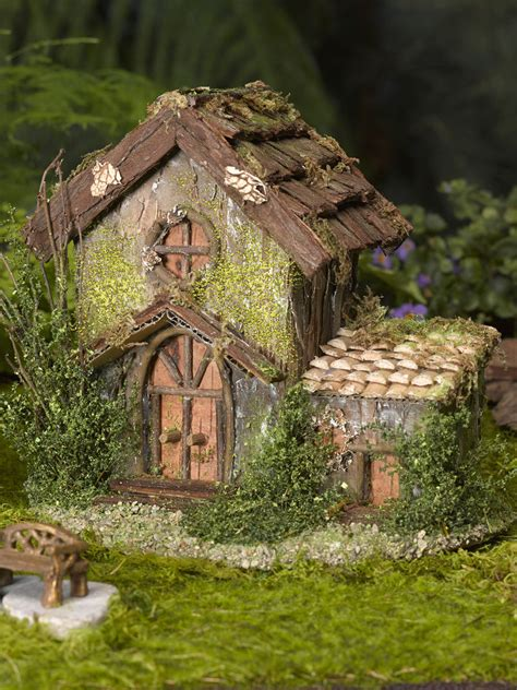 buy a fairy house fairy garden house fairy garden cottage gardener s supply