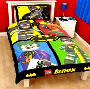 joker bed set batman dc comics lego cards single panel duvet set quilt