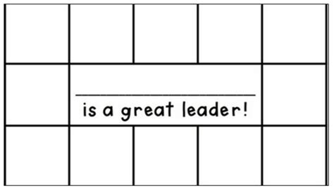 Punch Card Template For School by Yay Third Grade August 2012