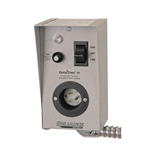 reliance controls furnace transfer switch tf151 the home