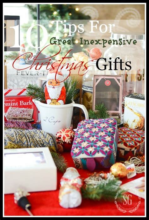 10 tips for great inexpensive christmas gifts stonegable