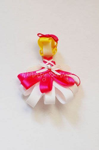 Cinderella Hairclip 17 best images about hair bows how to make on