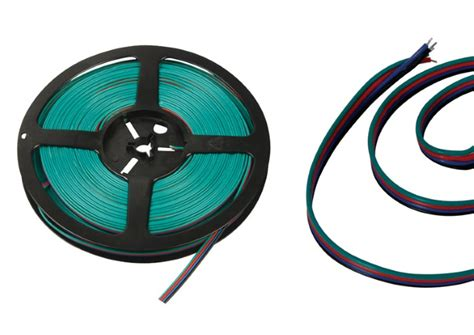Lu Led Motor Ons saveware aansluit kabels 12v 4 aderig per 125m