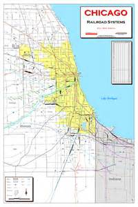Train Line Map Chicago by Chicago El Train Map Bing Images