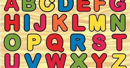 Puzzle Angka Alphabet puzzle abjad besar dan angka pondok buah hatitoko