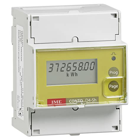 Multi Function Meter ime conto d4 sh class 1 single phase three phase network