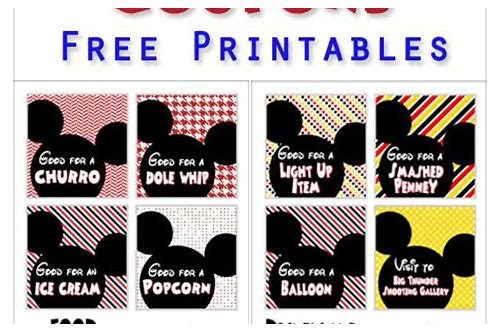 disneyland coupons for food