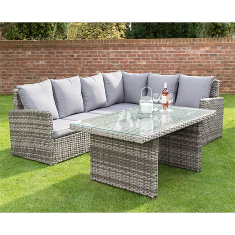 canterbury premium corner dining set garden furniture bm