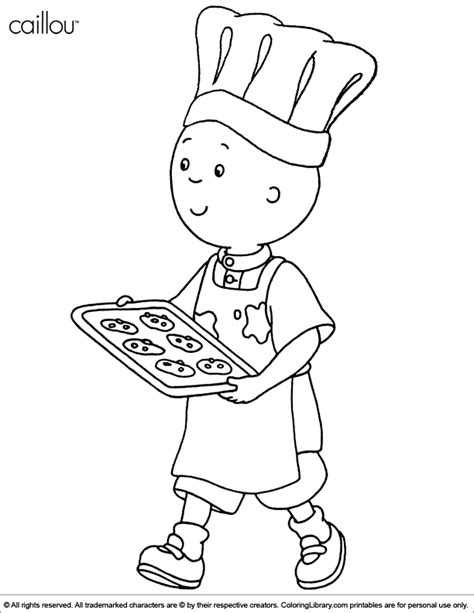 printable coloring pages caillou caillou color pages coloring home