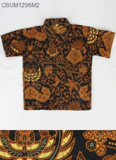Kemeja Anak Batik Genthong The Series kemeja batik anak motif klasik size m kemeja murah batikunik