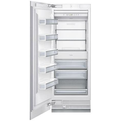 thermador 30 refrigerator freezer thermador 30 quot built in freezer column t30if800sp