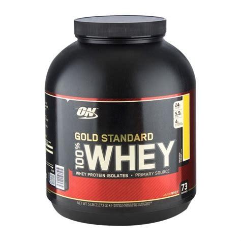 Whey Protein On Gold Standard Optimum Nutrition 100 Whey Gold Standard Protein