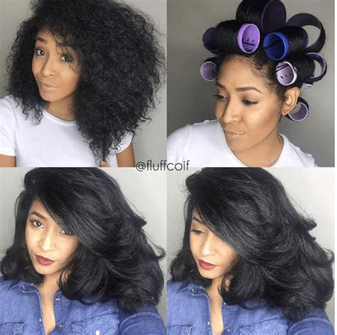 hair growth with set hairstyle amazing roller set on natural hair