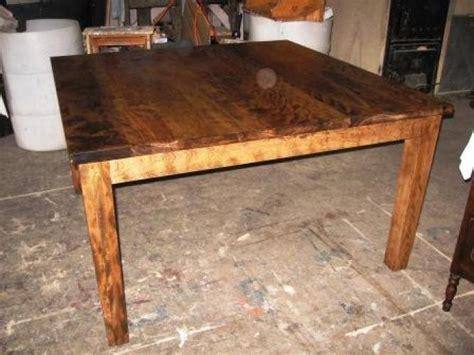 table en bois de cuisine table de cuisine 100 vieux bois n 1038 le g 233 ant antique
