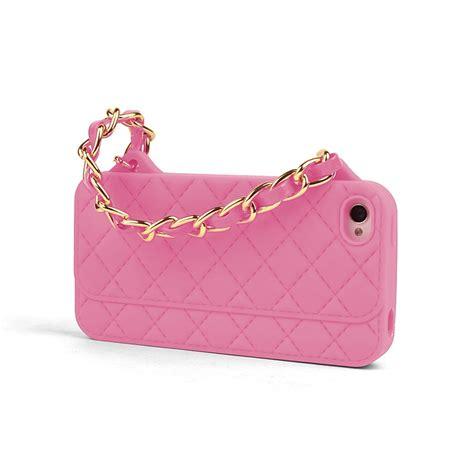 fundas divertidas iphone 5 funda iphone 5 bolso acolchado rosa