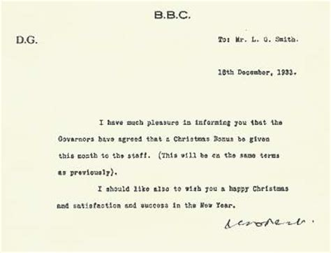 Request Letter For Year End Bonus Equipment Department In The 1930s By Les Quot Lg Quot Smith