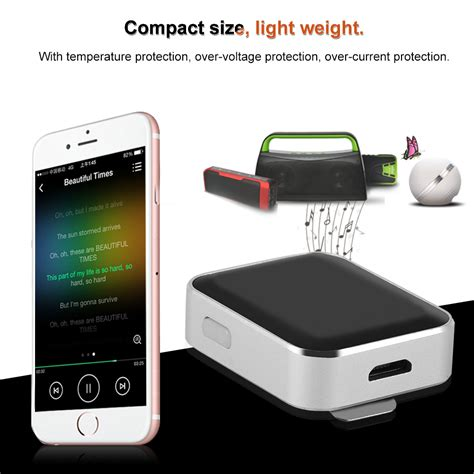 Clip On 3 5mm Bluetooth Receiver Car Audio Receiver Adapter clip on wireless bluetooth 3 5mm car audio stereo receiver headphone adapter new ebay
