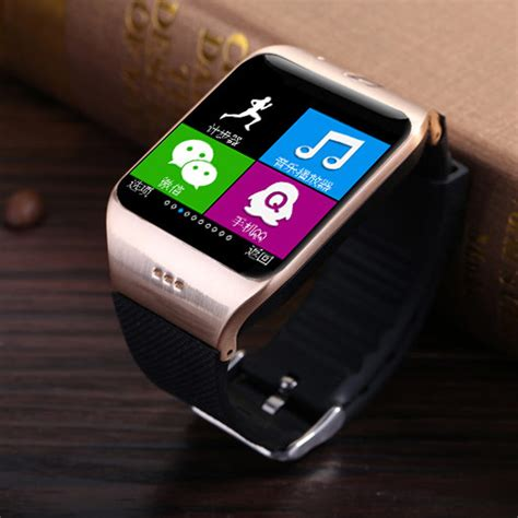 I One Smartwatch Android Ios lg118 bluetooth smartwatch hd touch screen 1 3m with nfc for android ios ebay